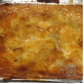 Запеканка картофельная с сыром