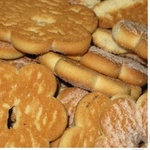 Печенье Делиция Домашнее с сахарной пудрой Украина