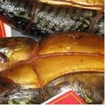 Fish atlantic mackerel Samyi smak hot-smoked Ukraine