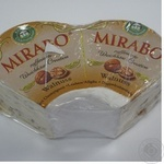 Cheese mirabo Hofmeister cow milk with walnut with mold 68% Germany