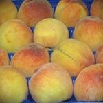 Фрукт персик свежая