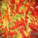 Vegetables pepper Darus frozen Ukraine