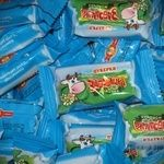 Цукерка Бісквіт-шоколад Забодайка молоко Україна