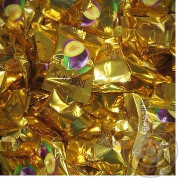 Конфета Рошен Чернослив в шоколаде с черносливом Украина