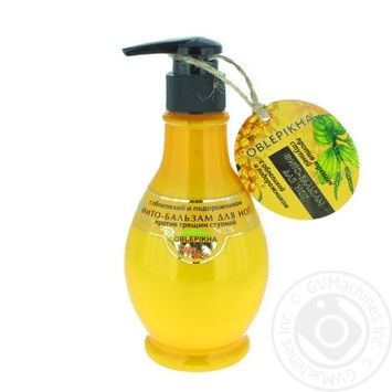 Oblepikha foot balm with plantain and sea buckthorn 275 ml - buy, prices for Furshet - image 1