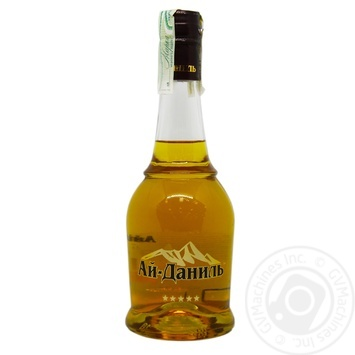 Ai-Danil 5 stars cognac drink 40% 0,5l - buy, prices for Furshet - image 3
