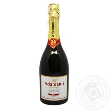 Sparkling wine Adamanti white brut 13% 750ml glass bottle Georgia - buy, prices for Furshet - image 1