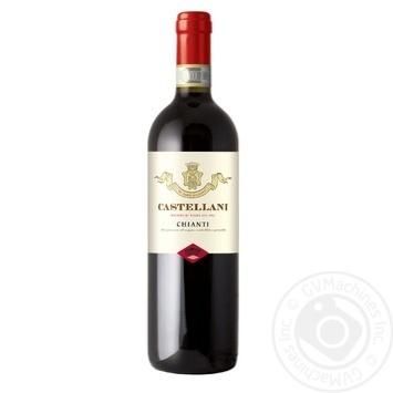 Вино Castellani Chianti красное сухое 12.5% 0.75л