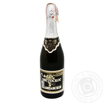 Шампанское Советское Фуршет полусладкое 0.75л - купить, цены на Фуршет - фото 1