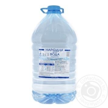 Вода питьевая негазированная Народная 5л - купить, цены на Фуршет - фото 1