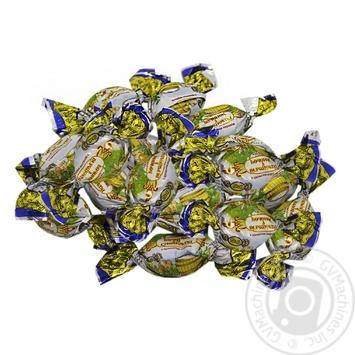 Карамель Риконд Бочонок со сливками - купить, цены на Фуршет - фото 1