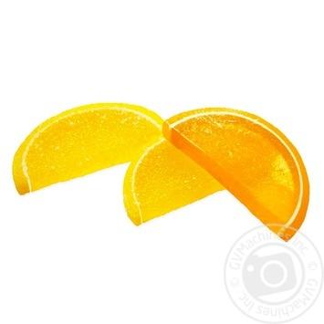 Мармелад Бисквит-Шоколад Апельсиново-лимонные дольки - купить, цены на Фуршет - фото 1