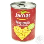 Кукуруза Jamar консервированная 400г