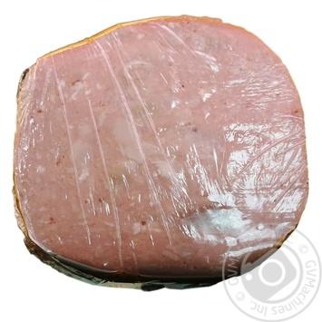 Ветчина Фуршет тостов вареная первый сорт весовая - купить, цены на Фуршет - фото 1