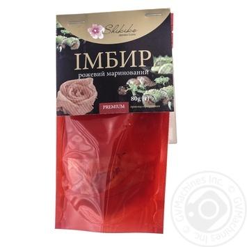 Ginger marinated pink Shikiko 80g - buy, prices for Furshet - image 1