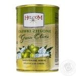 Helcom Green Olives Stuffed with Cheese 0,3l