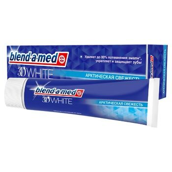 Blend-a-med 3D White Arctic Freshness Toothpaste 100ml - buy, prices for CityMarket - photo 1