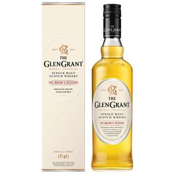 Віскі Glen Grant Шотландський The Major's Reserve 40% 0,7л - купити, ціни на CітіМаркет - фото 1