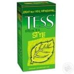 Зеленый чай Тесс Стайл китайский в пакетиках 25х2г Россия