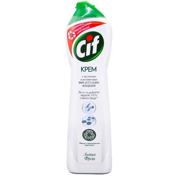 Cif Active fresh Cream for cleaning Universal 500ml - buy, prices for EKO Market - photo 1