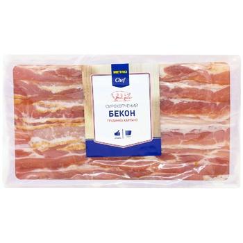Metro Chef Raw Smoked Bacon Brisket Carpaccio 450g
