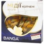 Banga Mussels in oil 120g