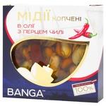 Мидии Banga в масле с чилли 120г