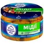 Vodnyi mir pickled with herbs mussels 200g