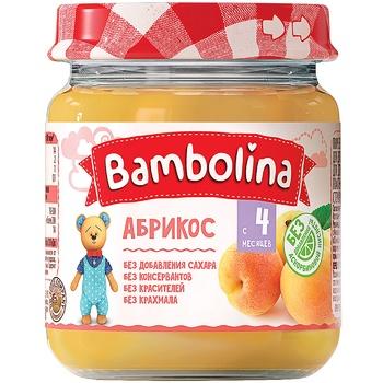 Puree Bambolina Apricot 100g - buy, prices for Furshet - image 1