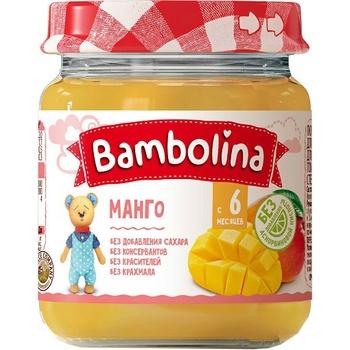 Пюре Bambolina манго 100г - купити, ціни на МегаМаркет - фото 1