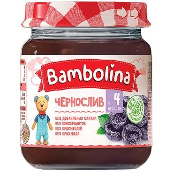 Пюре Bambolina Чернослив 100г - купить, цены на СитиМаркет - фото 1