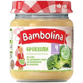 Bambolina broccoli puree 100g - buy, prices for CityMarket - photo 1