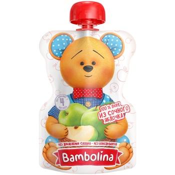 Bambolina Apple Puree 90g - buy, prices for CityMarket - photo 1