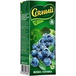 Sochnyj Apple Blueberry Nectar 0.2l