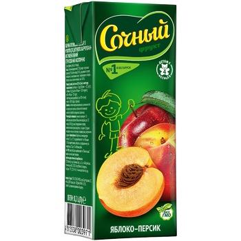Sochnyj Apple Peach Nectar 0.2l - buy, prices for CityMarket - photo 1
