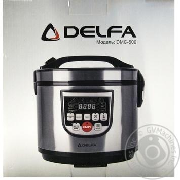 Мультиварка Delfa DMC-500 - купити, ціни на Ашан - фото 1