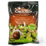 Конфеты Vergani Chocаo с начинкой из фундука и злаков в молочном шоколаде 125г