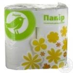 Toilet paper Auchan Kozhen den