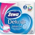 Toilet paper Zewa De lux 4pcs