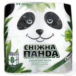 Папір туалетний Сніжна панда 4шт