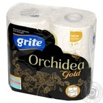 Toilet paper Grite Private import 4pcs