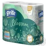 Папір туалетний Grite Blossom 4рул.