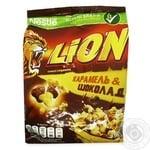 Готовий сухий сніданок Lion з вітамінами та мінералами 450г