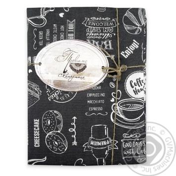 Скатерть Прованс Grey Breakfast 120Х136см - купить, цены на МегаМаркет - фото 1