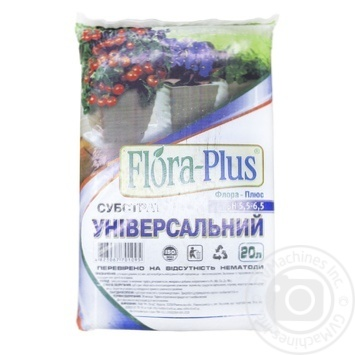 Субстрат Flora-Plus универсальный 20л - купить, цены на Ашан - фото 1