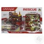 Игровой набор Паркинг Пожарная служба