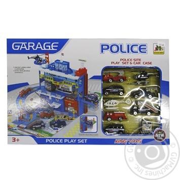 Parking Police Service Toy Set