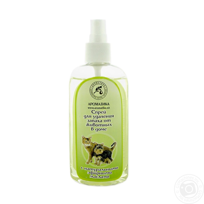 Купить 623, Освіжувач повітря Ароматика проти запаху тварин 100мл х6