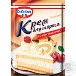 Крем для торта Dr. Oetker ванільний 50г