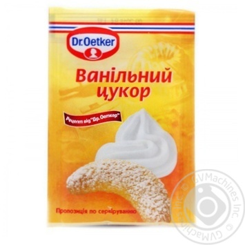 Dr.Oetker Vanilla Sugar 8g - buy, prices for Novus - image 1